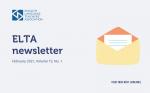 ELTA Newsletter: February 2021
