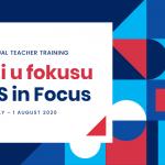 "Besplatan dvodnevni online trening ""Mi u fokusu"" 31. jul – 1. avgust 2020."