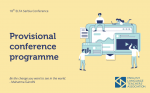 Provisional Conference Programme