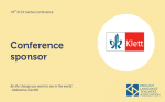Klett joins as a Gold Sponsor of the upcoming ELTA Conference
