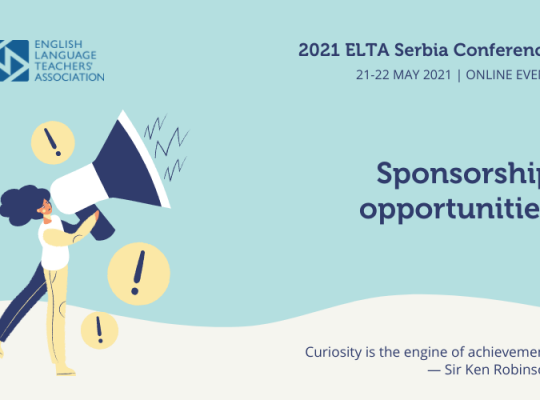 2021 Sponsorship Opportunities elta.org.rs