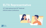 ELTA Representative at the ATECR 16th International and 20th National Conference