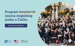 Program besplatnih časova engleskog jezika u Čačku