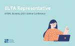ELTA Representative at the IATEFL Slovenia 2021 Online Conference