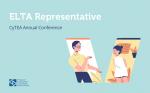 ELTA Representative at the CyTEA Annual Conference