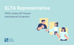 ELTA Representative at the 43rd TESOL Greece Annual International Online Convention